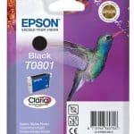 Epson Cartridge T0801 Zwart-3369