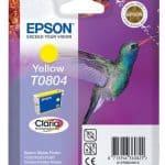 Epson Cartridge T0804 Yellow-3375