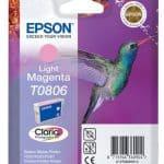 Epson Cartridge T0806 Light Magenta-3379