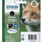 Epson Cartridge T1281 Zwart-3303