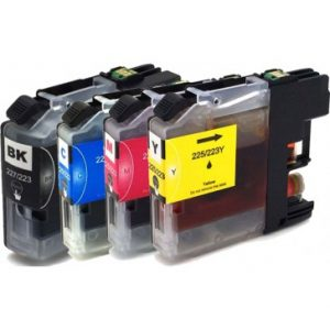 Brother Compatible LC223 4-pack-3725