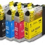 Brother Compatible LC123 4-Pack-3170